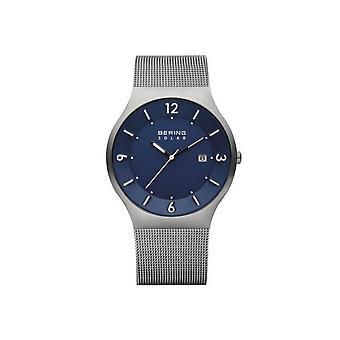 Bering solar watch 14440-007 mens watch slim