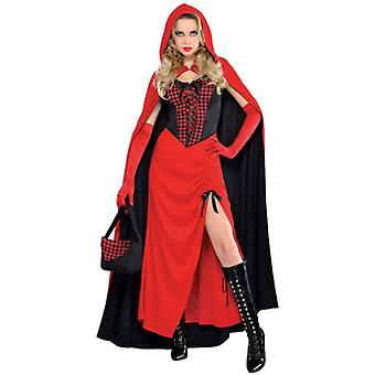 Amscan Costume Little Red Riding Hood Sorceress for Adult