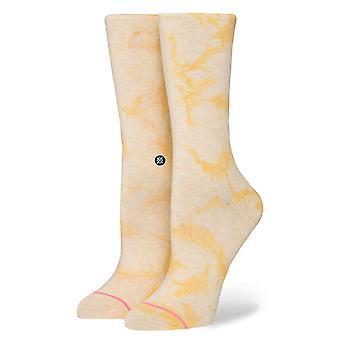 Postura de calcetines todos los días de limón - amarillo