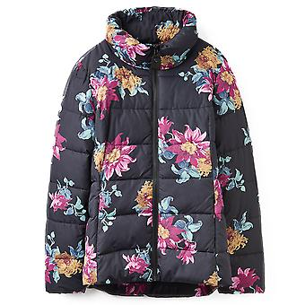 Joules Womens/Ladies Florian Printed Warm And Cozy Padded Jacket Coat