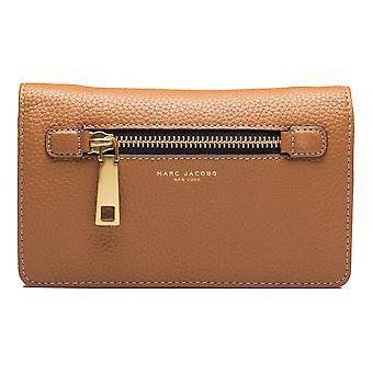Marc Jacobs Women's Leather 'Gotham' Cross Body Clutch Brown