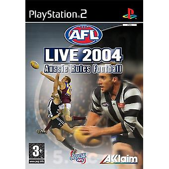 AFL Live 2004 Aussie Rules fotboll