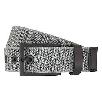 LLOYD Men's belts mesh belts men's belts leather grey 7192 fed