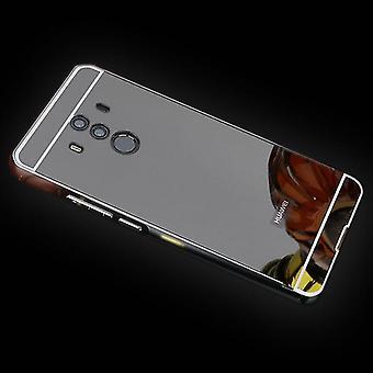 Miroir / miroir en aluminium pare-chocs 2 pièces avec couvercle noir pour Huawei Mate 10 par carton