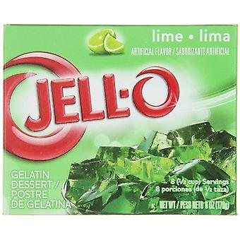 Jell-O Lime Instant Jello Gelatin Mix 6 oz Box
