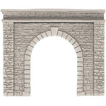 H0 Tunnel portal 1-track HR foam prefab NOCH