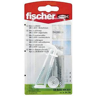 Fischer UX 8 x 50 WH N K Universal espiga 50 mm 8 mm 94296 2 PC