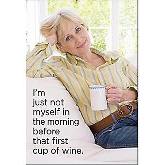 Я просто не себя утром перед... Смешные холодильник магнит