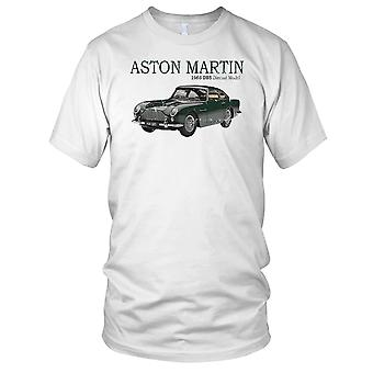 Aston Martin 1965 Classic Car Kids T Shirt