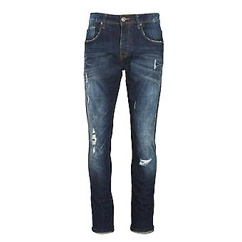 883 POLICE Moriarty LAK 444 Slim Taper Fit Jeans