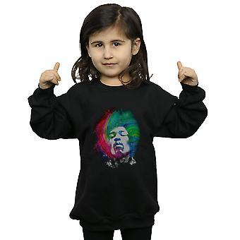 Jimi Hendrix jenter Galaxy virvel Sweatshirt