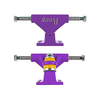 Penny Purple Solid Series - 3 Inch Pair of Cruiser Trucks