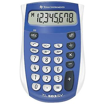 Texas Instruments 503SV/FBL/11E1 Battery Pocket Calculator with Large Display