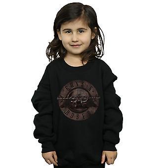 Guns N' Roses ragazze seppia Bullet Logo Felpa