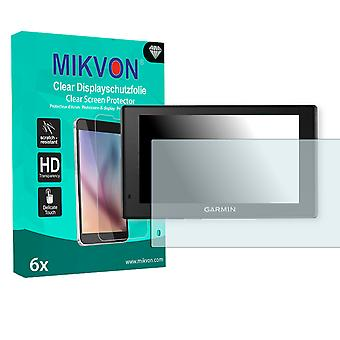 Garmin DriveSmart 60 Screen Protector - Mikvon Clear (Retail Package with accessories)