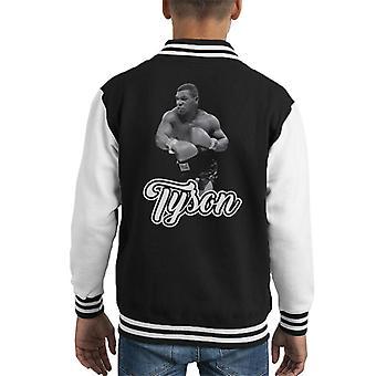 Tyson schwarz-weiß Kid Varsity Jacket