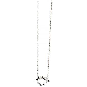 Beginnings Pretzel Necklace - Silver