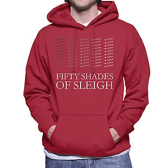 Christmas Fifty Shades Of Sleigh Men's Hooded Sweatshirt