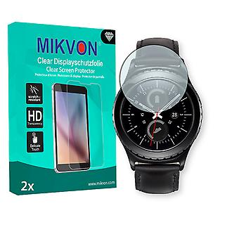 Samsung Gear S2 (2016) Screen Protector - Mikvon Clear (Retail Package with accessories)