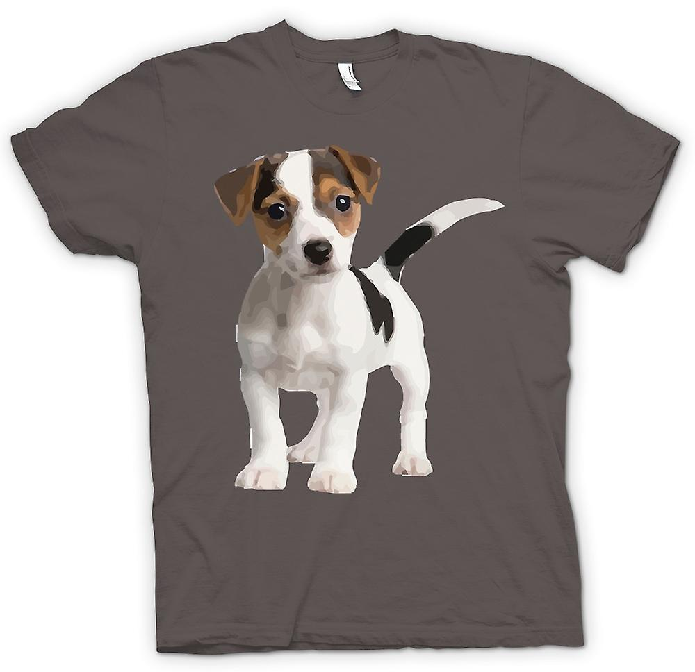 Womens T-shirt - Jack Russell Terrier Puppy - Cute