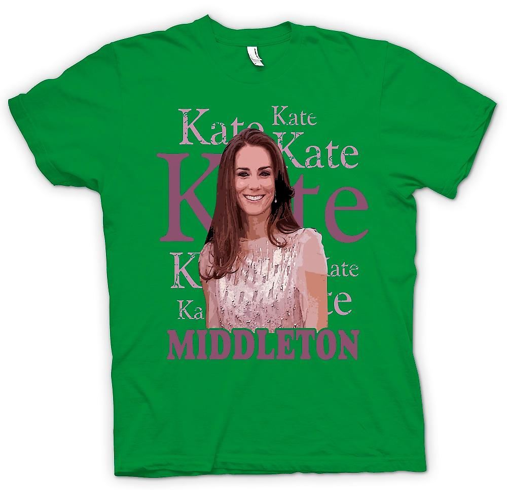 Mens T-shirt - Kate Middleton - Future Reine