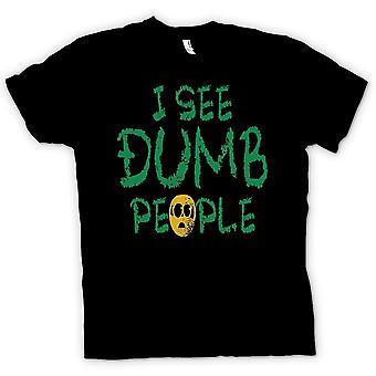 القميص النسائي-أرى الناس غبية-من وحي فيلم مضحك