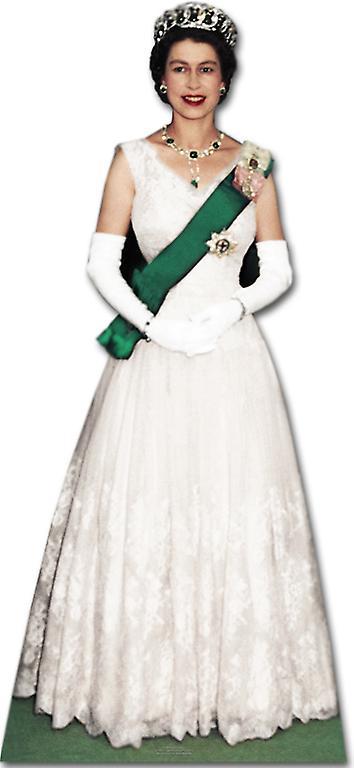 Queen Elizabeth II (Coronation Era) - Lifesize Cardboard Cutout / Standee (Diamond Jubilee 2012)
