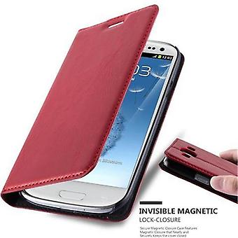 Cadorabo Case for Samsung Galaxy S3 / S3 NEO Case Cover - Phone Case with Magnetic Closure, Stand Function and Card Case Compartment – Case Cover Case Case Case Case Case Book Folding Style