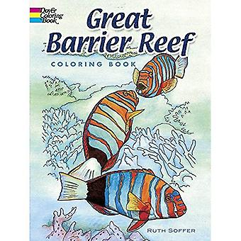 Great Barrier Reef Coloring Book (Dover Nature Coloring Book)