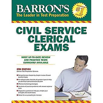 Barrons Civil Service Clerical Exams