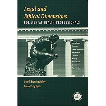 Dimensiones jurídicas y éticas para profesionales de la Salud Mental