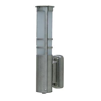 Colonna wandlamp staand - RVS