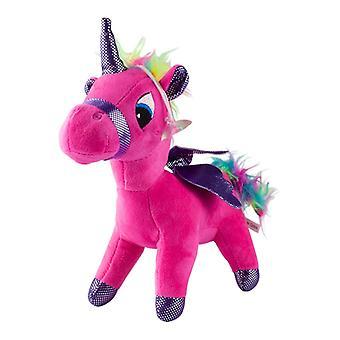 Unicorn, Plush Toys/Stuffed Animals-Dark Pink