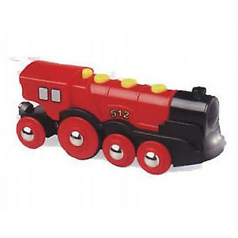 BRIO 33592 Mighty Red Action Locomotive 33592