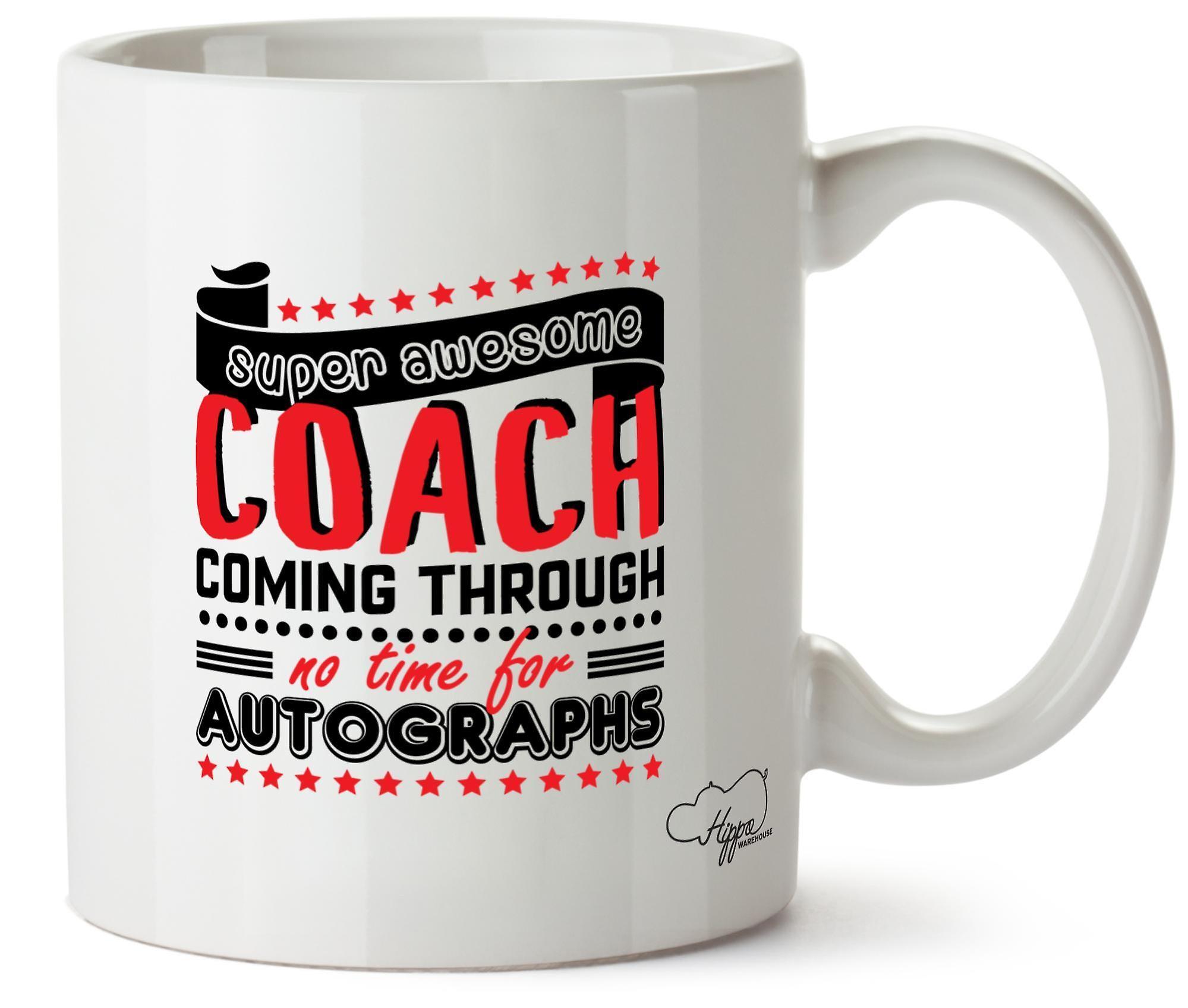 Autographes En Coach Super Tasse À Imprimé Céramique Venir Génial Aucun Des 10oz Hippowarehouse Grâce Moment c3TKFl1J