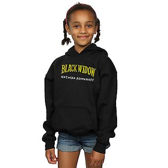 Marvel Girls Black Widow AKA Natasha Romanoff Hoodie