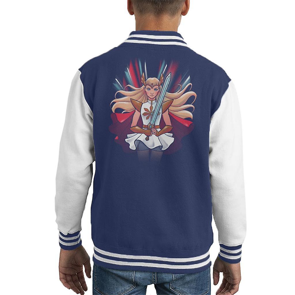 Princess Of Power Kid's Varsity Jacket
