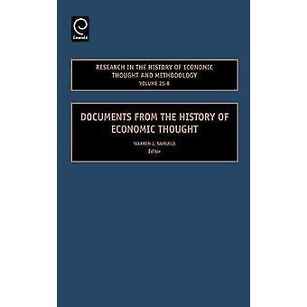 Forskning i ekonomisk tanke och metodik volym 25B dokument från historien av ekonomiska tanken av Samuels & Warren J. historia
