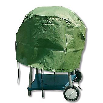 単にケトル バーベキュー カバー - ラウンド - 防水耐候屋外家具プロテクターを直接します。