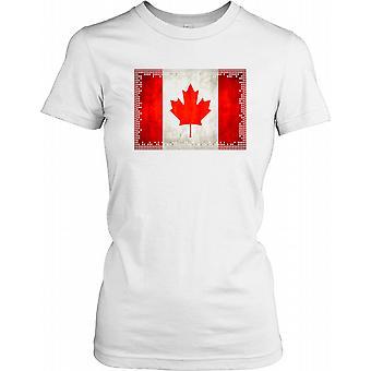 Canada Flag - Patriot damer T Shirt