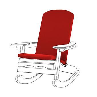 Gardenista® punainen vedenpitävä tyyny pad Adirondack puheen johtaja