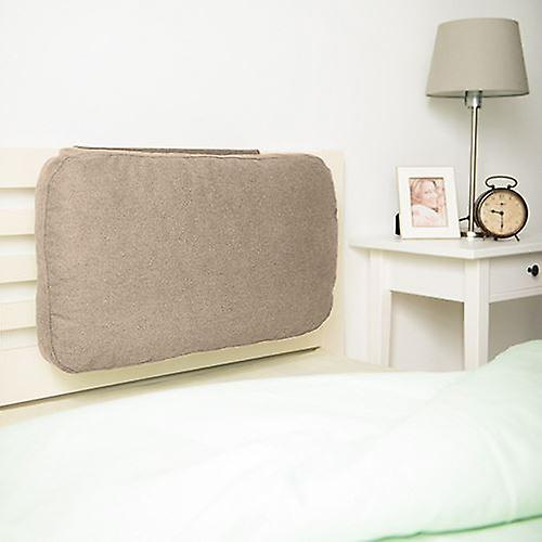 Cushion BackrestLatte Weighted Foam Crumb Headboard Ybf6g7y