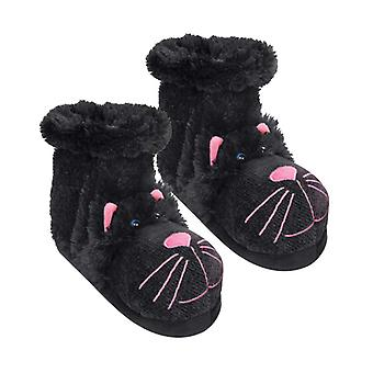 Aroma Home Fun For Feet Novelty Slipper Socks: Black Cat