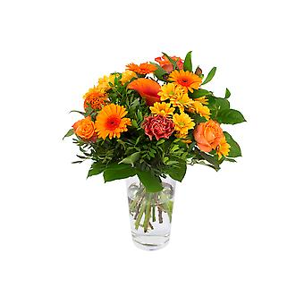 Gäng blommor Kim medium, orange | Höjd: 40 cm