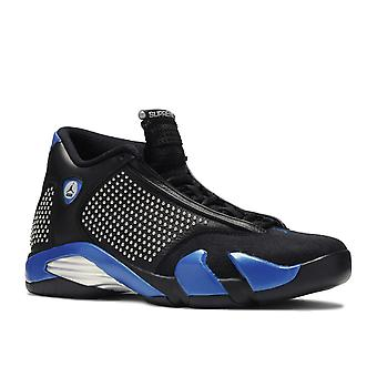 Air Jordan 14 retro X Supreme SP ' Black Varsity Royal '-Bv7630-004-schoenen