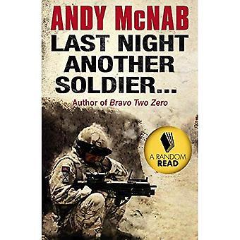 Hier soir un autre soldat