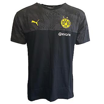 2019-2020 Borussia Dortmund Puma Casuals Tee (Noir)