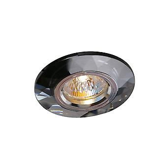 Diyas Crystal Downlight Chamfered Round Rim Only Black, IL30800 Requis pour compléter l'article