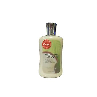 Bad & lichaam werkt kokosnoot Lime Verbena body lotion 8 fl oz/236 ml