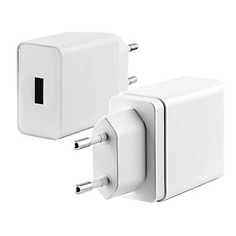 Quick load 3.0 white wall car charger